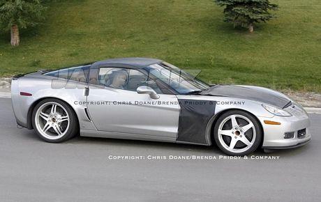 Fotos espías del Corvette ZR1
