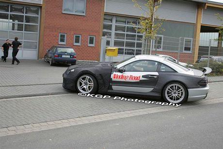 Fotos espía del Mercedes SL Black Series