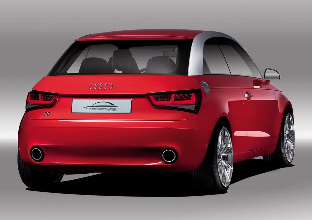 Audi A1 Metroproject Quattro Concept, se acabó la espera