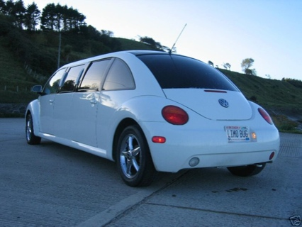 Volkswagen New Beetle Limusina, a subasta en eBay