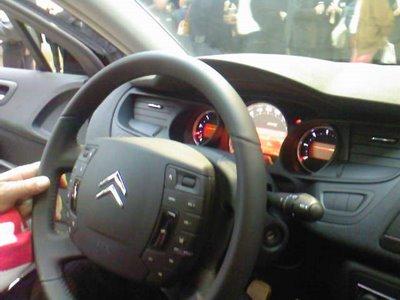 Primeras fotos en directo del Citroën C5 II