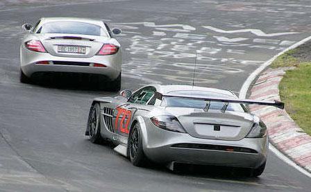 Más fotos del Mercedes SLR McLaren GT