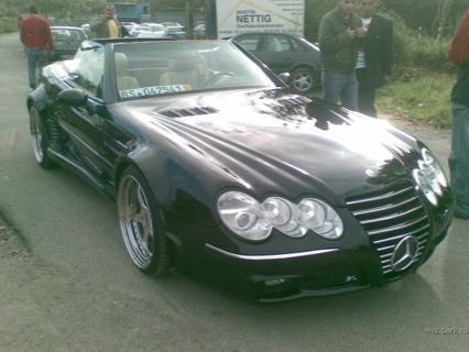 Mercedes SL Tuning