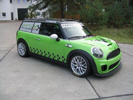 MINI Challenge Clubman Safety Car