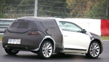 Más fotos espías y nueva recreación del Volkswagen Scirocco
