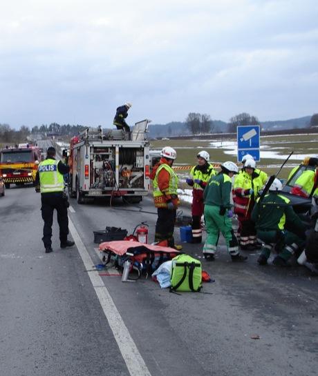 Accidente Volvo