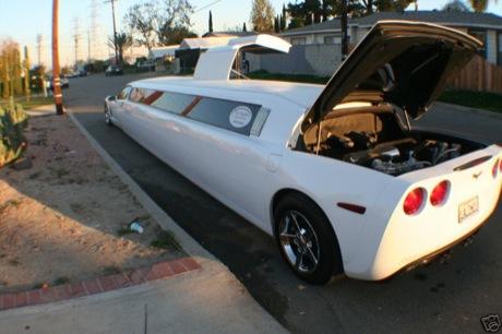 Corvette Limusina, a la venta en eBay