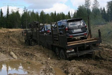 Camión grúa ruso, el camión que te saca de un apuro