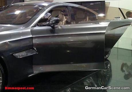 BMW Concept CS desde el salón de Dubai