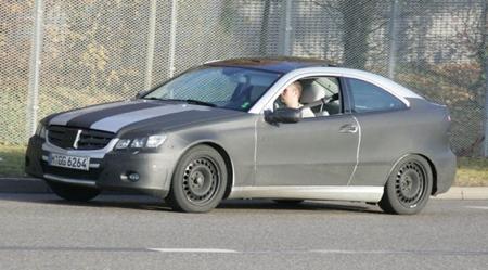Fotos espía del nuevo Mercedes C SportCoupé