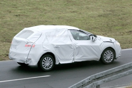 Recreación del Renault Megane III