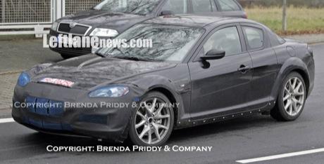 Primeras fotos espías del próximo Mazda RX-8