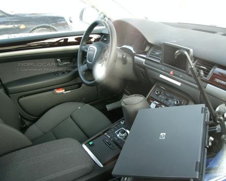 Primera mula de pruebas del Audi A7, cazada