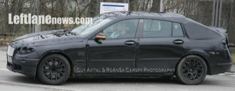 BMW PAS, cazado y esta vez también el interior