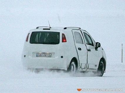 Fotos espía del Citroën C3 Minispace