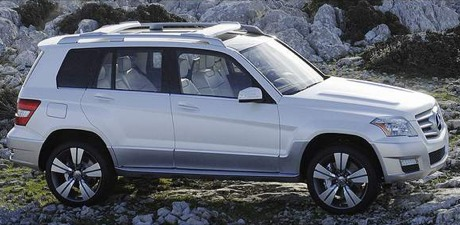 Mercedes GLK Freeside Concept