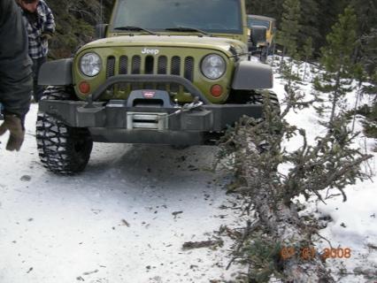 Jeep accidente