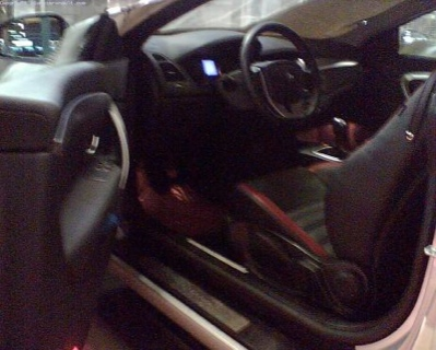Renault Laguna Coupé Interior