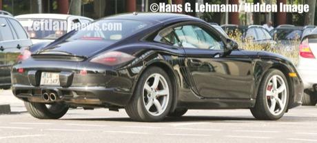 Fotos espía del nuevo Porsche Cayman