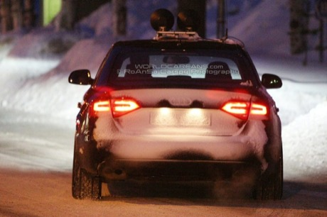 En la nieve: nuevo Audi S4, ¿vuelve el V6 Twin-Turbo o no?