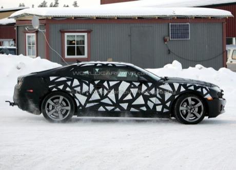 El Chevrolet Camaro comienza el período serio de pruebas invernales