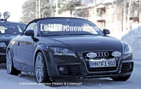 Audi TT-RS Cabriolet, ¡cazado!