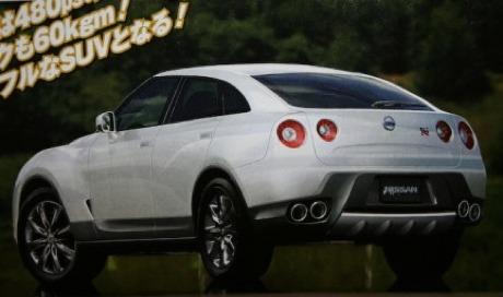 Nissan GT-R SUV