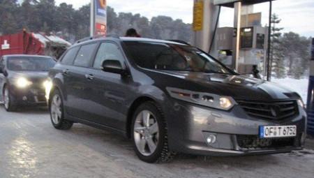 Honda Accord Europeo espía