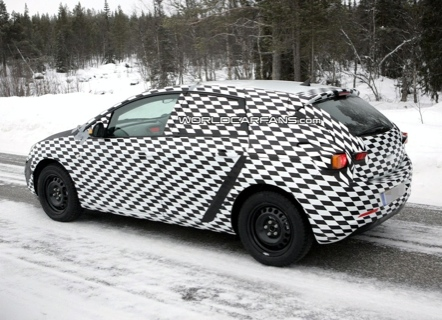 Fotos espías del nuevo Opel Astra