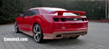 Cazado: kit estético del Chevrolet Camaro