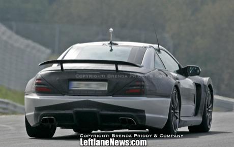 Mercedes SL AMG Black Series