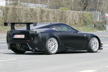 ¿Cansado de los prototipos de prueba del Lexus LF-A? Aquí la solución