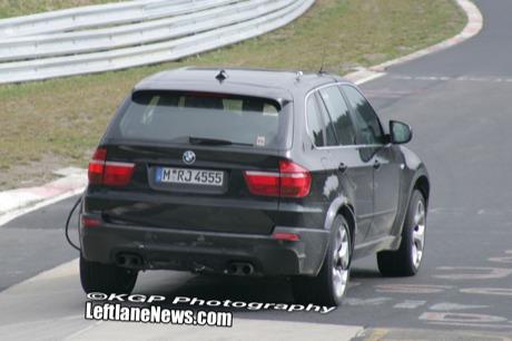 El BMW X5 M también vuelve al 'Ring