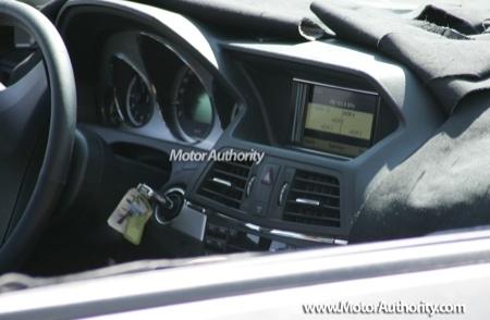 Nuevas fotos espía del Mercedes CLK