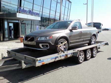 Volvo XC70 pickup, sólo por esta vez