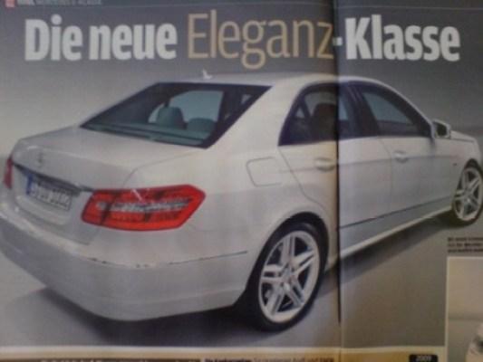 Primeras fotos reales del nuevo Mercedes Clase E