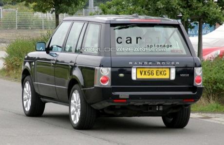Segundo lavado de cara del Range Rover, fotos espía