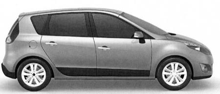 Renault Scénic y Grand Scénic, filtrados desde la oficina de patentes