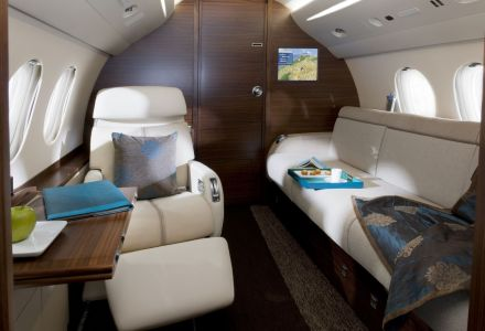 BMW nos presenta la cabina del Falcon 7X