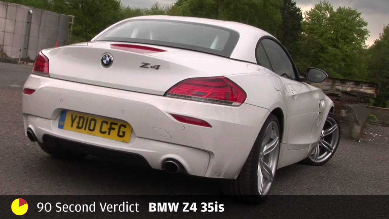 BMW Z4 35is - 90sec review by autocar.co.uk