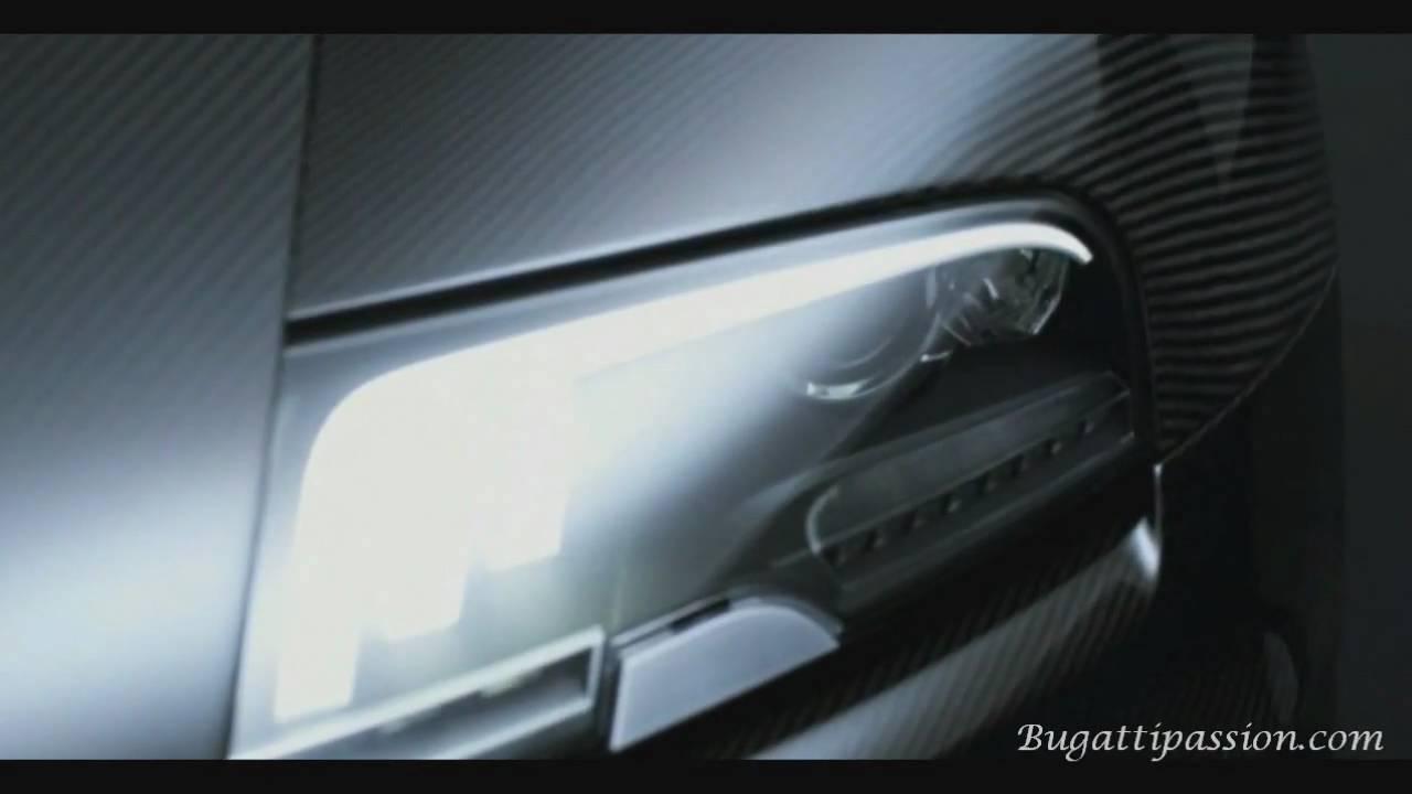 Bugatti Veyron SuperSport (first vidéo)