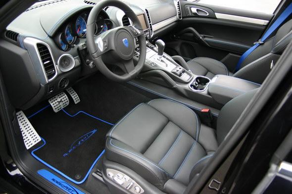 speedART TITAN blue Interior