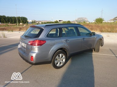 Prueba Subaru Outback 2.0 Bóxer Diésel (parte 2)