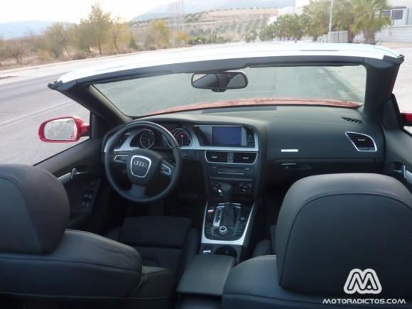 Prueba Audi A5 Cabrio 1.8 TFSI 170 caballos Multitronic (parte 1)