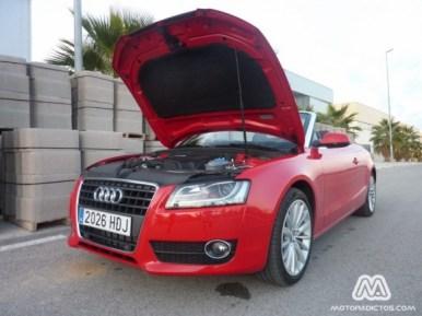 Prueba Audi A5 Cabrio 1.8 TFSI 170 caballos Multitronic (parte 2)