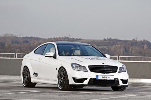 Väth se atreve con el Mercedes C63 AMG Coupé