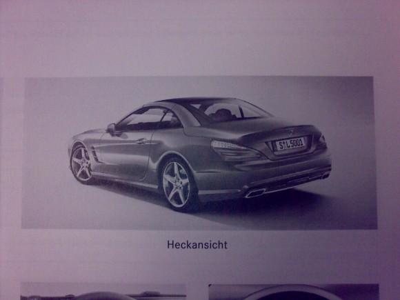 El Mercedes SL 2012 muestra su cara por primera vez