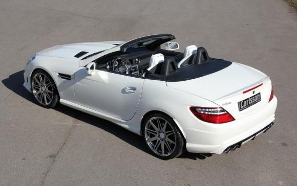 Carlsson nos muestra su peculiar Mercedes SLK