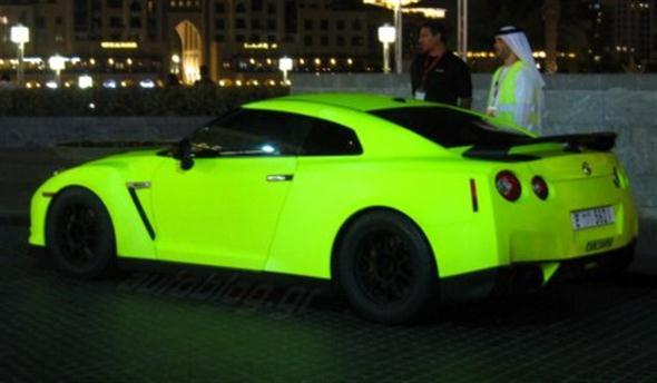 Matte-Green-Fluorescent-Nissan-GT-R-in-Dubai-01