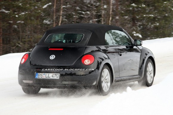 Volkswagen Beetle Cabrio, para 2013